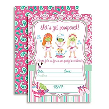 Best pampering party invitations Reviews