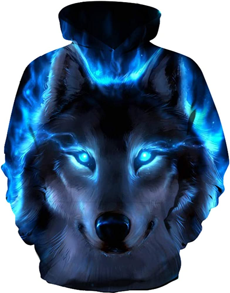 CYUURO Unisex 3D Digital Print W Luxury goods Sweatshirts Pullover Galaxy free shipping Men