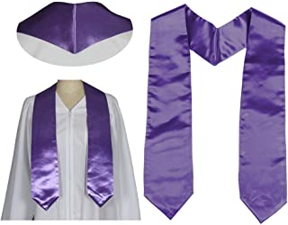Adult Plain Graduation Stoles