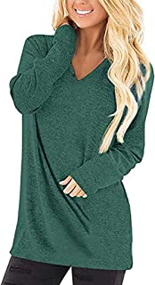 Casual T-Shirt for Womens Cold Shoulder Short Long Sleeve Sleeveless Knot Front Tunic Top LIM&Shop Blouse