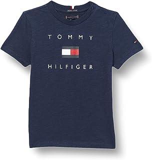 Tommy Hilfiger Hilfiger Logo Tee S/S Camicia Bambino