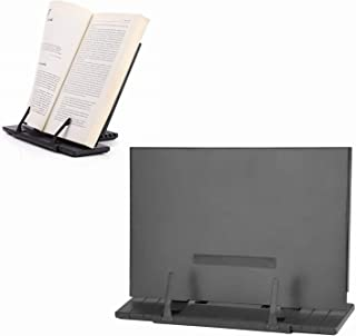 Book Stand Foldable Reading Book Frame Portable Adjustable Reading Document Stand Holder for Office Home Supplies