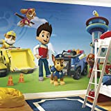 RoomMates JL1341M Paw Patrol Water Activated Removable Wallpaper Mural - 10.5 ft. x 6 ft.