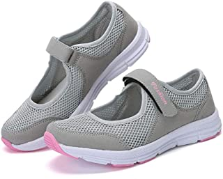 KESEELY Fashion Women Sport Walking Shoes Summer Anti Slip Fitness Mesh Breathable Running Sports Shoes Sandals