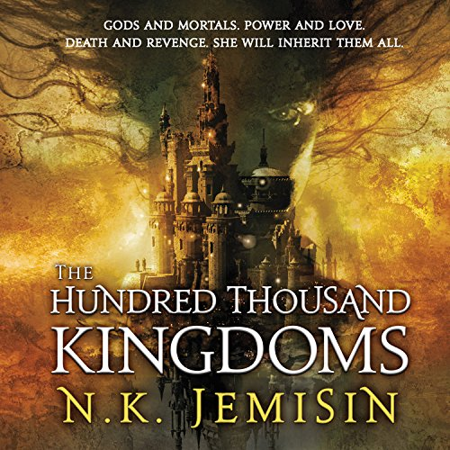 The Hundred Thousand Kingdoms  By  cover art