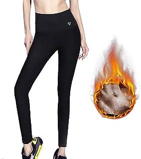 ZHENROG Pantalones para Adelgazar, Mallas Deportivas Mujer, Pantalón de Sudoración Adelgazantes, Leggins Anticeluliticos F...