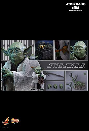 Hot Toys MMS369 - Star Wars V The Empire Strikes Back - Yoda - Officiel