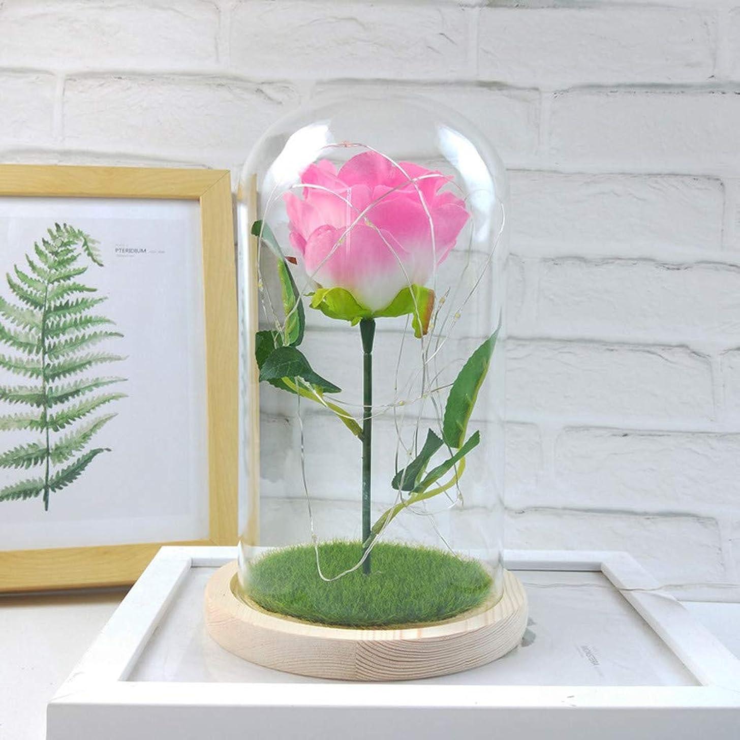 TIANMI Romantic Glass Rose Wedding Decoration Home Furnishing
