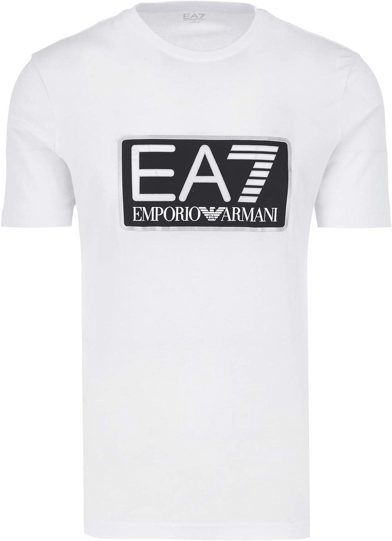 Emporio Armani Camiseta para hombre EA7 6ZPT81 PJ02Z, manga ...
