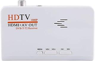 Socobeta Ricevitore Digitale terrestre 1080P HD HDMI DVB-T2 TV Box sintonizzatore Ricevitore Convertitore Telecomando Senz...