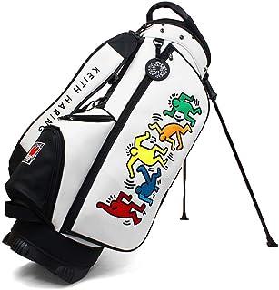 キース・ヘリング(Keith Haring) Stand Caddy Bag 2020 スタンドキャディバッグ 9型(47inch対応) KHCB-08