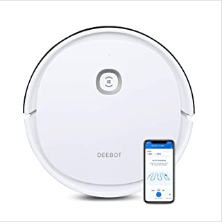 Ecovacs Deebot U2 - Robot Aspirador con función de Limpieza y Limpieza sistemática, Control de Aplicaciones y Alexa