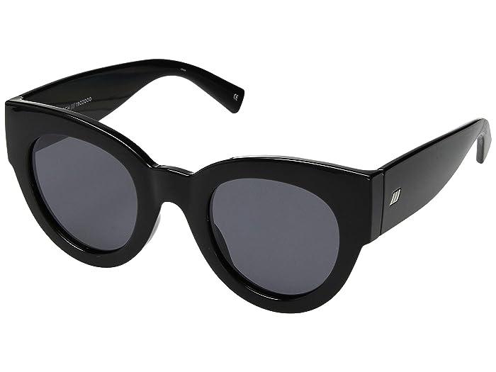 Le Specs Matriarch (Black) Fashion Sunglasses