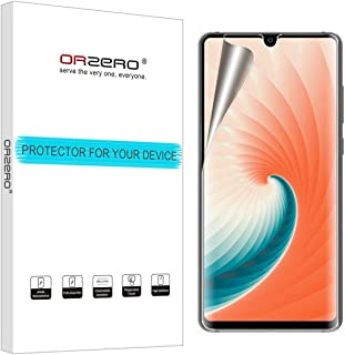 (3 Pack) Orzero Compatible for Huawei Mate 20 HD (Premium Quality) Edge to Edge (Full Coverage) New Screen Protector, High Definition Anti-Scratch Bubble-Free (Lifetime Replacement Warranty)