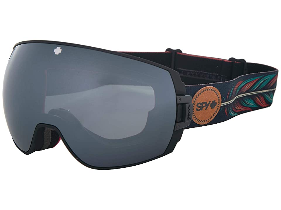 Spy Optic Legacy (Spy+Wiley Miller Happy Gray Green w/ Silver Spectra+Happy Yellow) Snow Goggles