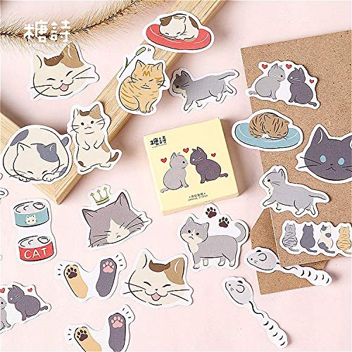 45Pcs/set kawaii Stationery sticker popular Cat paw pattern diary office supplies stationery christmas stickers gift label