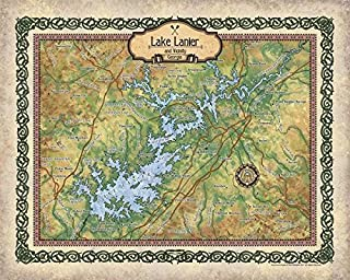 Best lake lanier navigation map Reviews