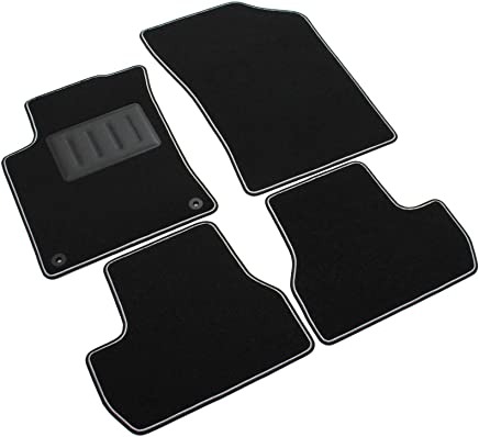 Il Tappeto Auto, SPRINT00603 - Alfombrillas de moqueta para el Coche, Color Negro,
