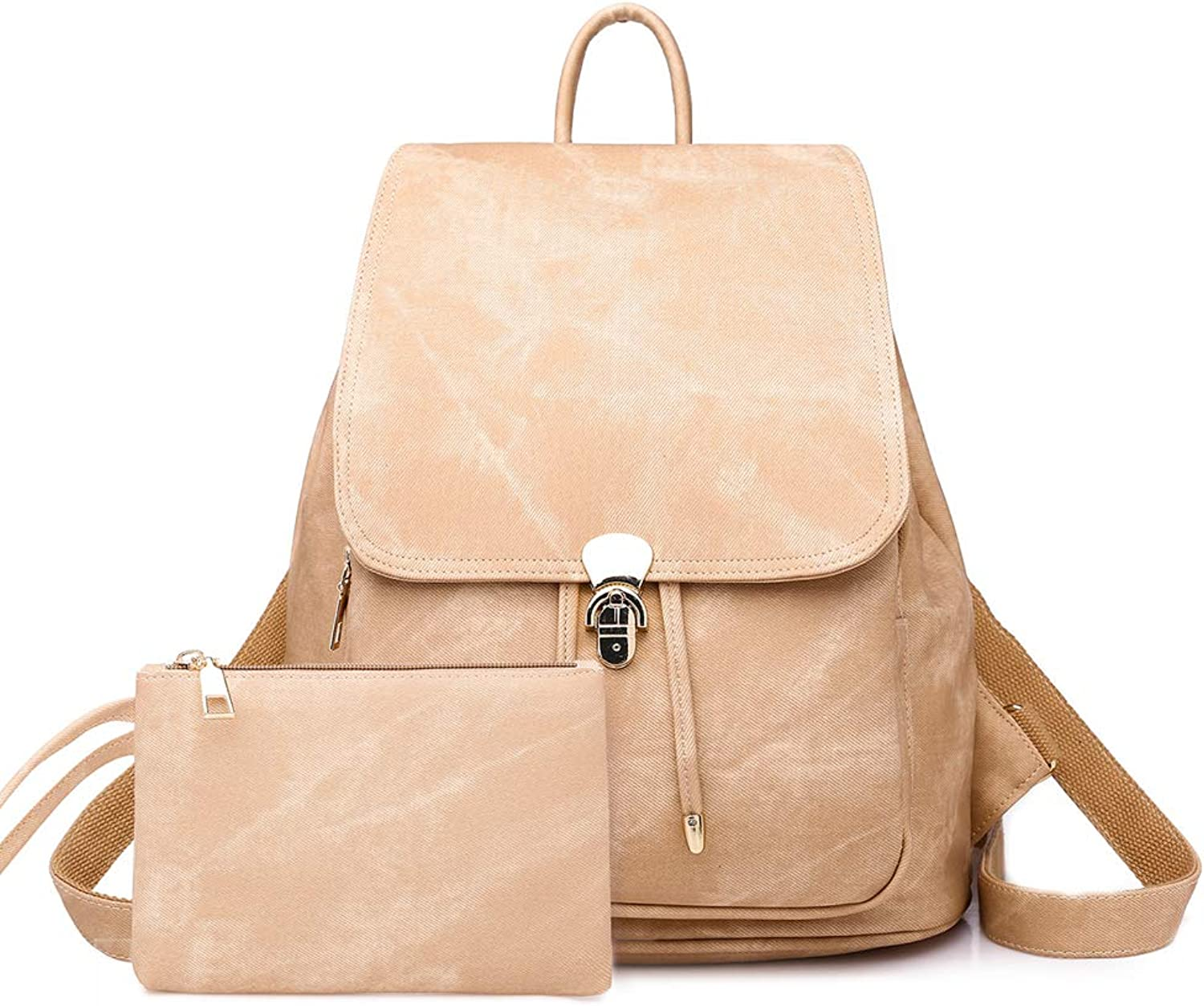 GTG Women's PU Leather Fashion Backpack College School Student Bag Shoulder Bags Casual Handbags For Girls