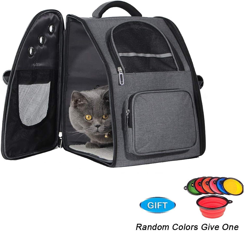 Pet Backpack,Cat Dog Backpack,Breathe Mesh, 34  29  42cm