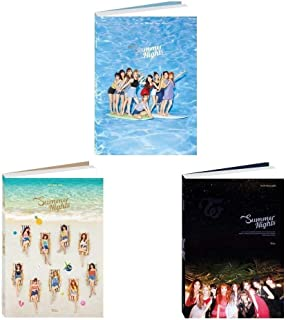 Twice - Summer Nights [A+B+C ver. Set] (2nd Special Album) 3CD+Photobook+Photocards+3Folded Posters+5 Double Side Extra Photocards