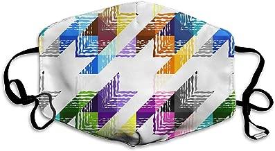 Unisex Geometrical Art Printed Cotton Mouth-Masks Face Mask Polyester Anti-dust Masks