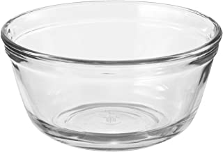 Anchor Hocking Glass Food Prep and Mixing Bowls, 4 Quart (Set of 2), Clear - 81629L11