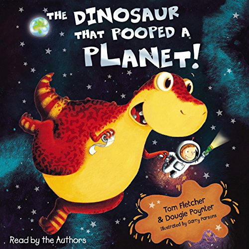 The Dinosaur that Pooped a Planet audiobook cover art