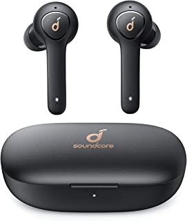 Anker Soundcore Life P2 Bluetooth Wireless Earphones with 4 Microphones, CVC 8.0 Noise Reduction, Graphene Drivers for Clear Sound, USB C, 40H Playtime, IPX7 Waterproof