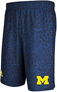 adidas Michigan Wolverines Blue Crazy Light Shorts