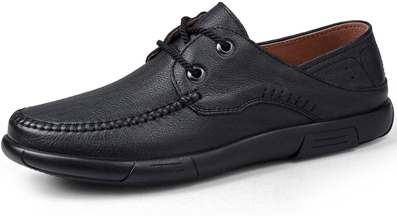LLP LM Men's Retro shoes Work shoes Business shoes Department of shoeslaces shoes Leather shoes
