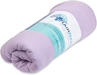 Hair Remedie Frizz Eliminating Towel (Lavender) - The Only Multi-Layered Hair Towel to Protect and Dry