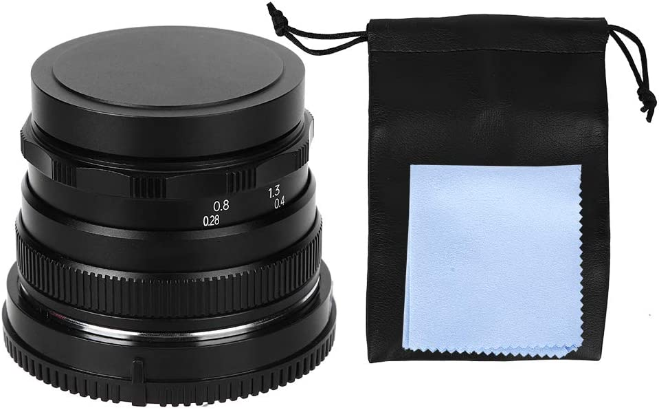 ZJchao Optical Glass F1.6 low-pricing Bombing new work Large Lens 35Mm Camera Aperture