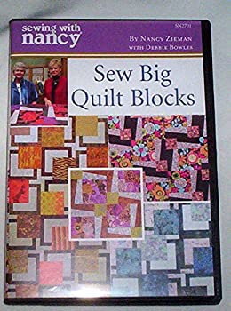 Sew Big Quilt Blocks - Sewing with Nancy DVD