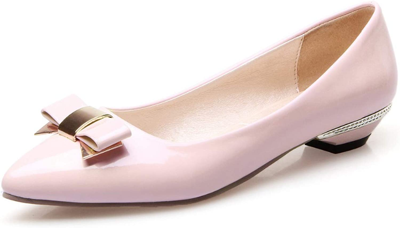 Jocbinltd Original Intention 15 colors Popular Women Flats Pointed Toe Causal Concise Flats Comfortable shoes Woman Plus US Size