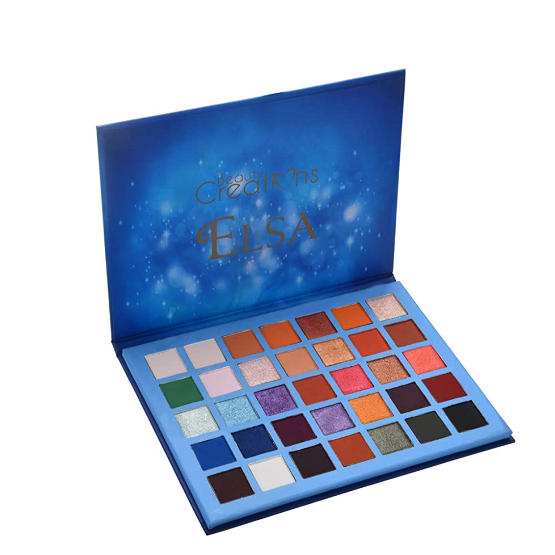 状効能ある療法アイシャドウ パレット 35色 Akane スカイアイアイシャドウ 持ち便利 Eye Shadow ビューティクリエーション エルサ スカイアイアイシャドウ (35色)