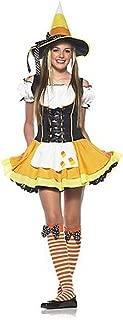 Women's 3 Piece Kute Kandy Korn Witch Dress