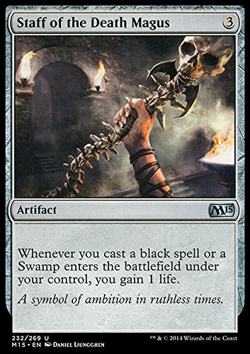 Magic The Gathering - Staff of The Death Magus (232/269) - Magic 2015