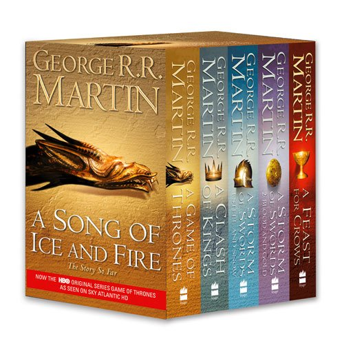 A Song of Ice and Fire, Books 1-4 (A Game of Thrones/A Clash of Kings/A Storm of Swords/A Feast For