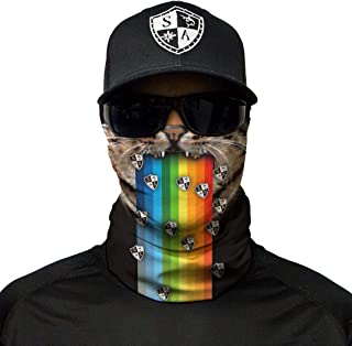 SA Company Face Shield- Rainbow Cat