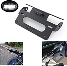 S1000RR Tail Tidy/Fender Eliminator /License Plate Holder for BMW S1000RR 2009-2019 / S1000R 2014-2019, WithLEDLicense Plate Light, Compatible with OEM/ Stock Blinker And Aftermarket Turn Signal