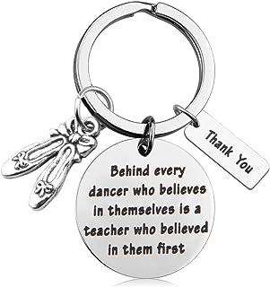 MAOFAED Dance Teacher Gift Cheer Coach Gift Dance Team Gift Dance Teacher Appreciation Gift