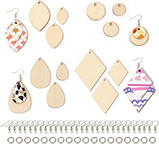 10Pieces V shape Wood Pendants,Natural Wooden Earring Pendant,necklace pendant charms,DIY,blank unfinished wood,Wooden Jewelry,62x59mm