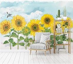 Sunflower sky wallpaper mural dormitorio sala de estar inicio fondo pared 250×175cm