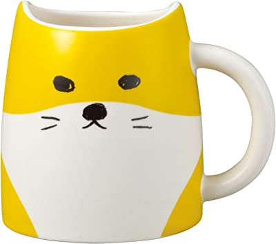 かわいい食器 柴犬 マグ 茶 SAN2934-1