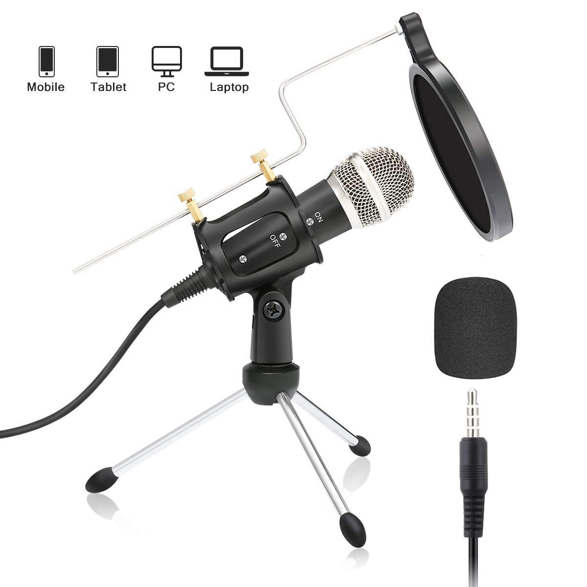 Condenser Microphone NASUM microphone Cellphones