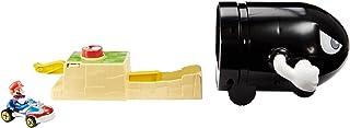 Hot Wheels GKY54 - Mario Kart Bullet Bill lanceerder en Mario Kart voertuig