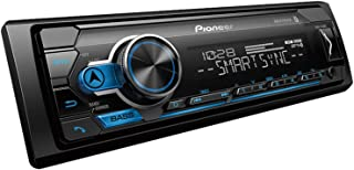 Pioneer MVH-S310BT Single Din Built-In Bluetooth, MIXTRAX, USB, Auxiliary, Pandora, Spotify, iPhone, Android and Smart Syn...