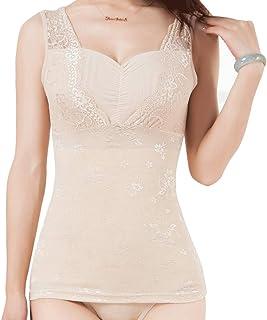 Everbellus Faja Reductora Camiseta Moldeadora Shapewear Compresión Ropa Interior para Mujer