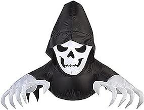 Gemmy Halloween Inflatable Window Creeper- Friendly Reaper